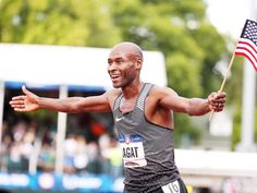 "BERNARD LAGAT The 41-year-old has made history as the oldest American to ever run at an Olympic games. At the Olympic trials for Rio, he came from behind to pass five runners – some 15 years his junior – in the final lap of the men's 5,000 meter. ""I train with young guys and I don't believe that I'm old,"" Lagat said after the race, according to Sports Illustrated. ""If you believe that you're old, you're going to run like an old man."" After qualifying for his fifth Olympics, Lagat collapsed…"