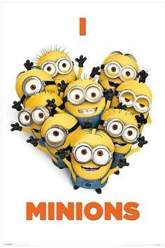 I Love Minions - Itse Ilkimys 2 -juliste