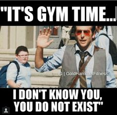 Gym humor - a little humor for the teachers who need to leave work to re-energize and get their fitness on!