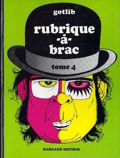 Hommage à #Gotlib , un des mes préférés, avec Franquin. Sa rubrique-à-brac avait du génie.