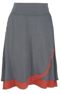 From www.hookedproductions.com Sleek and beautiful. This skirt is so versatile as it dressy enough for work and comfortable enough for casual. This can be worn with so many different tops. Itis an updated version of our Petal Skirt for Fall. It has a new waistband and is slightly longer. It also a heavier weight bamboo fabric than [...]