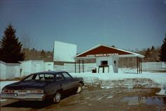 Atomic Drive-In in Serpent River, Ontario, Canada: Atomic Drive-In