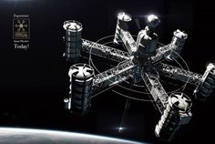 """Orbital Towers Space Elevator"" by Igor Sobolevsky / Science Fiction World"