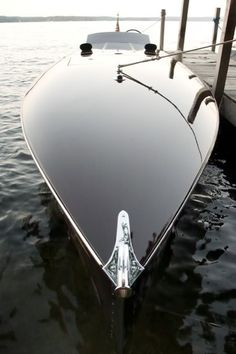 This is the Hornet G-36 , rebuilt from the original blueprints of a 1934 Speedboat of the same name.