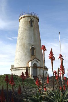 Photographs, history, travel instructions, and GPS coordinates for Piedras Blancas Lighthouse, Ca.