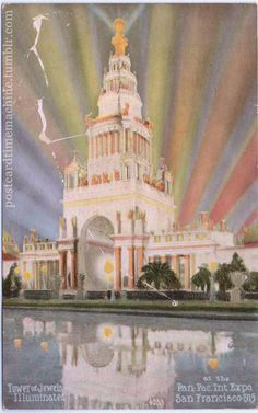 Panama Pacific International Exposition.  San Francisco, 1915.