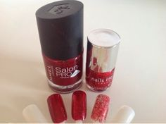 Twinkle & Sparkle | Christmas Nail Combinations ~ A Little Pop of Coral