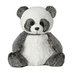 Ping the Sweet and Softer Panda Stuffed Animal by Aurora at Stuffed... (41 BRL) ❤ liked on Polyvore featuring stuffed animals, toys, baby, fillers and animals
