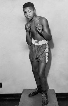 And little did he know that he would be The Greatest Boxung Champions and a legend! Still the GRGREATE R.I.P Ali!