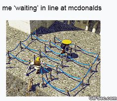 Waiting in line GIF - www.gifsec.com