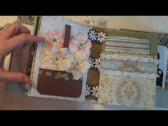 Wedding Mini Album...........also has a video for pocket page for Bind It All