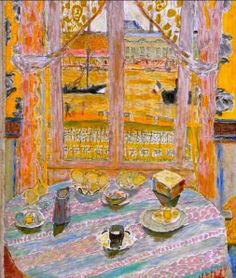 the open window | pierre bonnard, open window and window