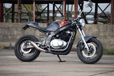 suzuki gs500 cafe racer barry sheene edition new build