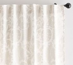 Pottery Barn Maris Print Curtain - Set of 2