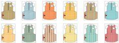Cajas con forma de camisa con corbata, para imprimir gratis. 17 diferentes. http://www.ohmyfiesta.com/2013/11/cajas-almohada-con-forma-de-camisa.html
