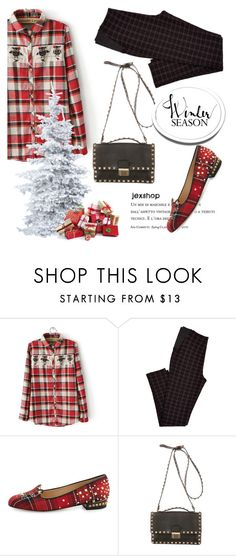 """""""Untitled #2289"""" by deeyanago ❤ liked on Polyvore featuring Charlotte Olympia and Valentino"""