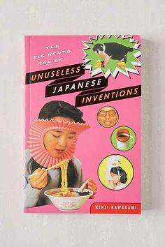 The Big Bento Box Of Unuseless Japanese Inventions By Kenji Kawakami - Urban Outfitters