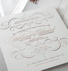 #Wedding Invitation Q&A: Your Guide From A to Z. To read more: http://www.modwedding.com/2013/09/28/wedding-invitation-qas-guide-z/ #weddinginvitation #weddinginvitations