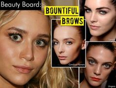 A Blog with some pointers on thick, beautiful brows!