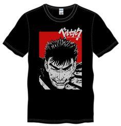 Tshirt O-neck Summer Personality Fashion Men T-shirts Berserk Guts Wink Graphic Mens Shirt #Affiliate
