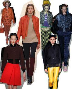 Baseball Jackets. London Fashion Week trends autumn/winter 2012
