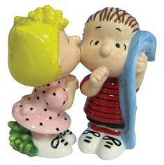 Sally & Linus Salt and Peppers Shakers