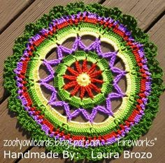 crochet  free photo tutorial plus many others on her wonderful blog. Thank you!!!