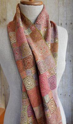 """""""Op"""" Wool scarf"""