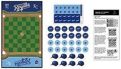 MasterPieces Masterpieces MLB Kansas City Royals Checkers Board Game