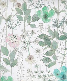 Irma B. Tana Lawn by Liberty Art Fabrics.