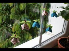 Kette aus Blumen (Blüten) nähen - einfach - YouTube