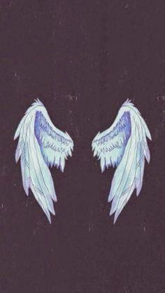 Imagem de angel, wings, and wallpaper Tumblr Wallpaper, Cool Wallpaper, Angel Wallpaper, Wallpapers Tumblr, Wings Wallpaper, Phone Backgrounds, Wallpaper Backgrounds, Colorful Backgrounds, Hipster Vintage