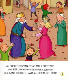 CELEBREM SANT JORDI - G. Conte - Álbumes web de Picasa Family Guy, Album, Guys, Fictional Characters, Pink, Picasa, Middle Ages, Easter, Activities
