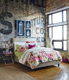So I'm liking the wall and the dressmaker dummy.  Brick walls have been popping up all over the internet and I am absolutely in love. But what if you don't have the time or money to in...