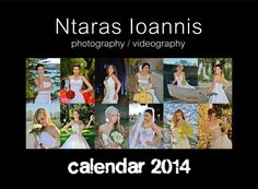 "Photoshooting for calendar 2014 ""the runaway bride"" Photographer-Ntaras Ioannis Photography"
