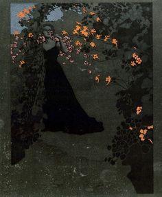 by Mila Von Luttich, Austrian painter and illustrator , 1872-1929