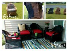 Vinyl Tablecloth DIY Ideas | DIY for Life Sew Up Yourself Some New Cushions @ 1/2 the Cost of Premade.