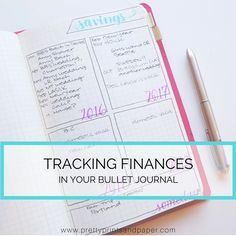 "As the ""Finances"" prompt comes for the #planwithmechallenge, I wanted to share how I make finance tracking work in my bullet journal. Many of us strive to get our finances in order, and…"