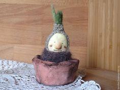 Купить Луковка - салатовый, зеленый, лук, луковица, Лучок, растение, растение в горшке, горшок для цветов