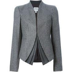 Армани collezioni и чек распечатать многослойный женский пиджак