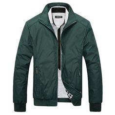 Jacket Men Overcoat Casual bomber Jackets Mens Outwear Windbreaker coat jaqueta masculina veste homme brand clothing
