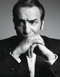 """Jean Dujardin the star of """"the artist"""".  Black and white, silent, brilliant!"""