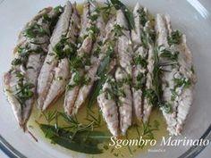 PesceSgombro Marinato - RicetteDi.it Fish Recipes, Keto Recipes, Personal Chef, Comfort Food, Antipasto, Fish And Seafood, Bon Appetit, Finger Foods, I Foods