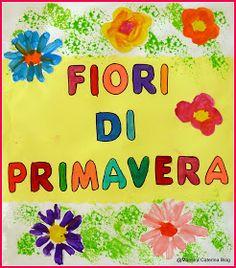 Maestra Caterina: Lapbook: Fiori di Primavera
