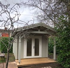 We make any size / style of cabin to suit you, all double glazed & insulated for all year round use. Cabin Office, Garden Log Cabins, Garden Office, Bespoke Design, My Dream, Shed, Outdoor Structures, Windows, Gallery