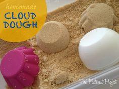 cloud dough http://www.thepinterestproject.com/2012/11/homemade-cloud-dough.html#comments