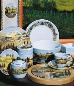 Handmade Porcelain Decoration | Tuscany