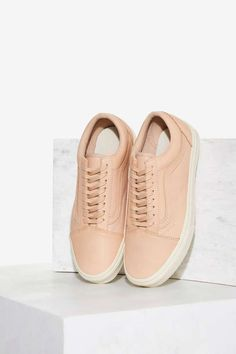 9dada10f47 Vans Old Skool Leather Sneaker - Tan