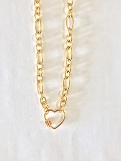 Gold plated chain choker with a heart motif with zircons Boho Shoes, Boho Sandals, Greek Sandals, T Strap Sandals, Leather Sandals, Black And White Ribbon, Pom Pom Sandals, Chokers, Gold Necklace