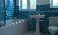 brick effect bathroom tiles - Google Search